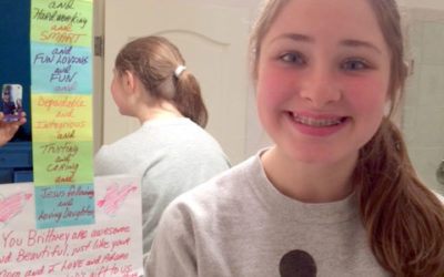 Messages on Mirrors: One Great Way to Affirm Your Daughter