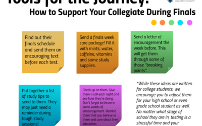 5 Ways to Support Your Student During Finals Week