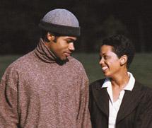 young aa couple