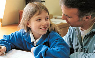 dad-school-age-daughter-homework