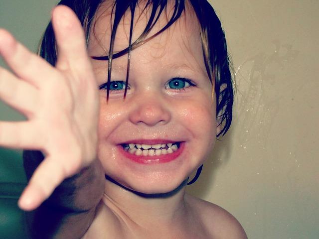 boy grin