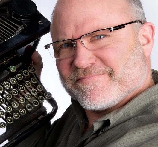 Jay Payleitner typewriter