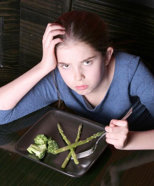 Child Refusing Dinner