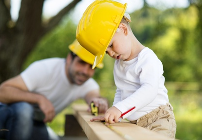 "How to ""Build"" a Better Dad"